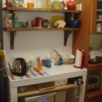 キッチン作業台スペース